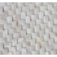 White Shell Wall Tiles Arched Mother of Pearl Tile ...