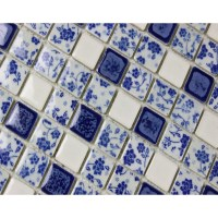 Blue And White Porcelain Tile | Tile Design Ideas