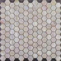 Hexagon Mosaic Mother of Pearl Tiles Backsplash Cheap ...