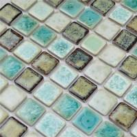 Porcelain Tile Backsplash mix-colors Ceramic Wall Tiles ...