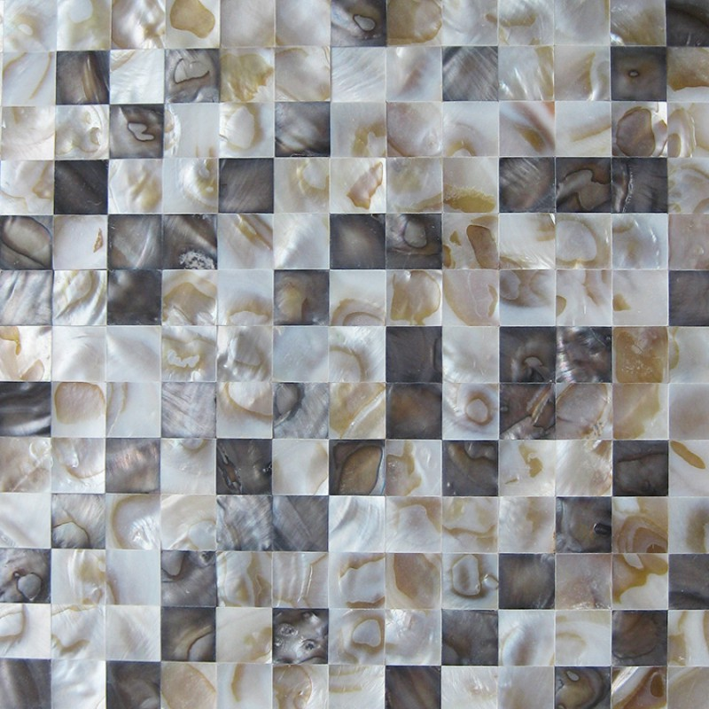 seamless kitchen flooring costco aid mixer stained mother of pearl shell tile seashell mosaic sheets bathroom floor mirror wall tiles backsplash