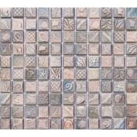 Ceramic mosaic tile sheets arabesque patterns kitchen ...