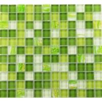 Glass mosaic tile backsplash Glass wall tiles YF-MTLP22 ...
