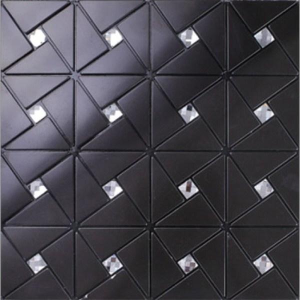 Black Alucobond Tile Adhesive Aluminum Composite