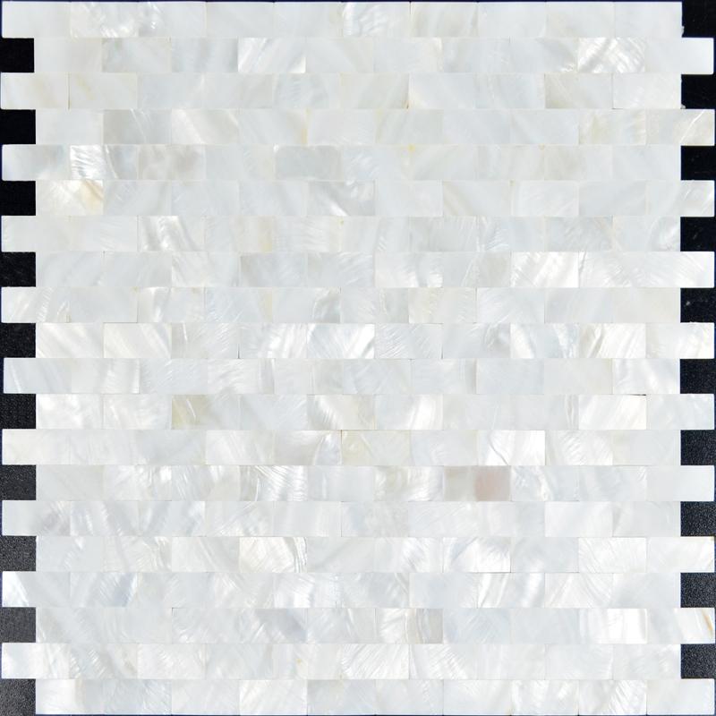 Mother of Pearl Tiles for Backsplash Bathroom and Kitchen