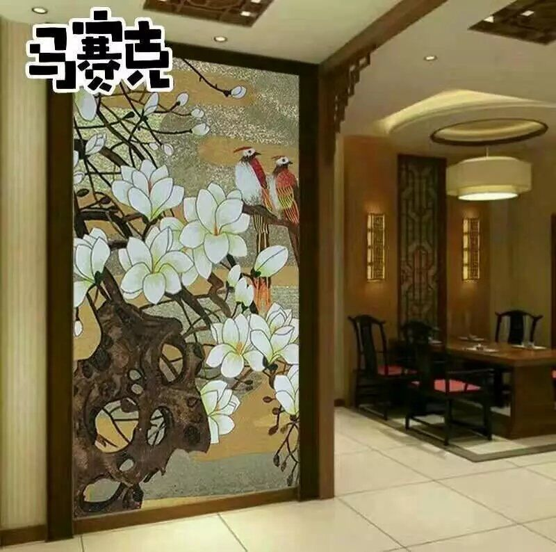 flower tile glass mosaic tile wall murals tiles backsplash