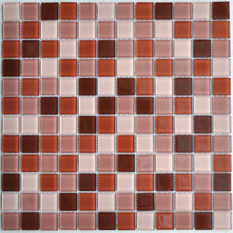 Crystal Glass Mosaic Tile Sheet Wall Stickers Kitchen