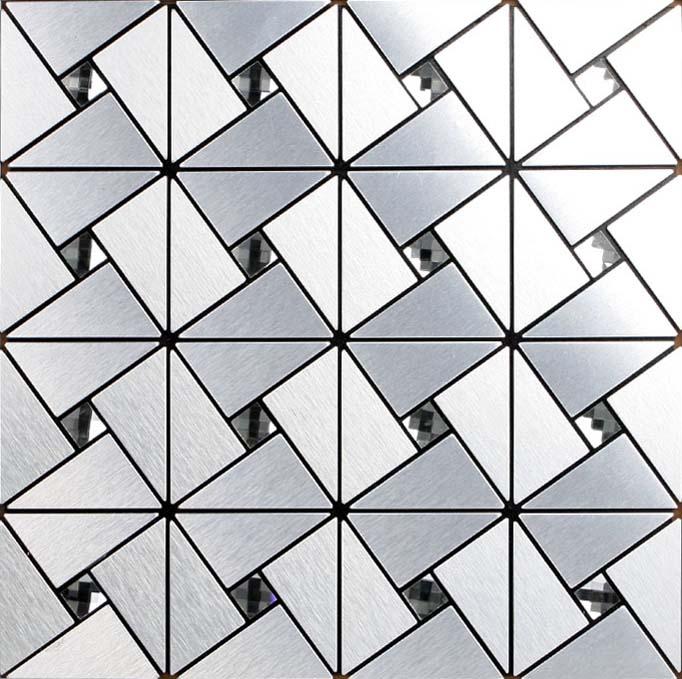 silver alucobond tile sheets peel and stick wall tiles design bathroom bravotti com