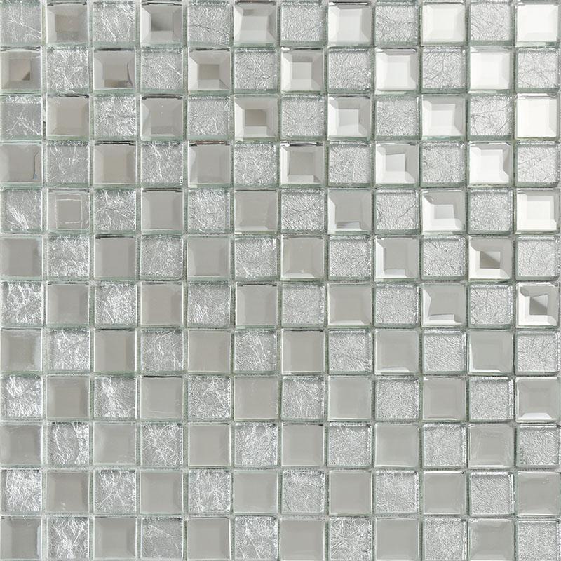 silver mirror glass diamond crystal tile square wall backsplash tiles bathroom washroom wall mirrored tile