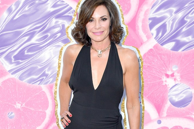 "luann de lesseps' long ponytail, new hairstyle: ""new look"