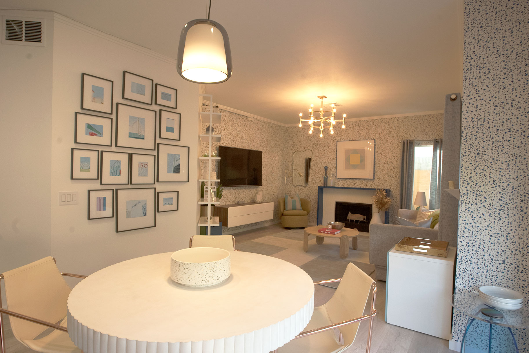 Before and After Modern LivingDining Rooms  Best Room Wins Photos
