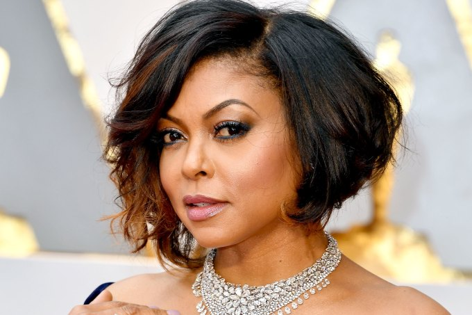 taraji p. henson gets blunt bob with bangs haircut: see pics