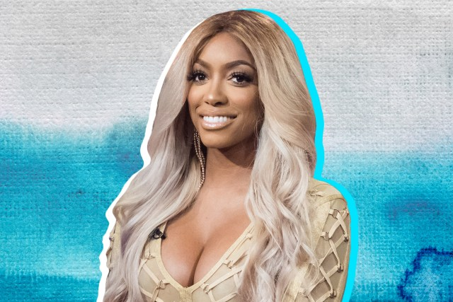 pregnant porsha williams' blue hair: real housewives of