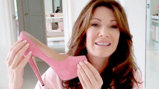lisa vanderpump's birthday: 2 pink dresses to celebrate