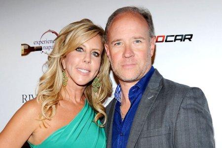 Vicki Gunvalson and her ex-boyfriend Brooks Ayers.