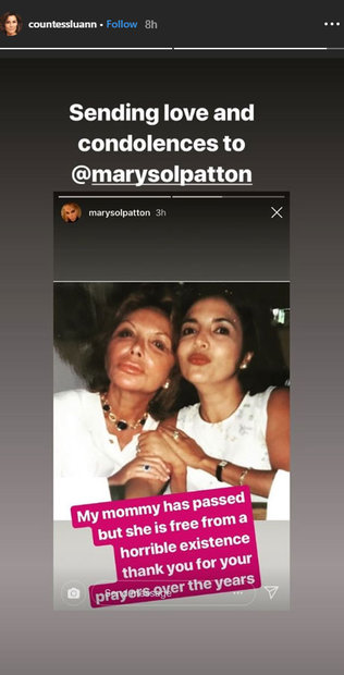 Real Housewives Of Miami S Mama Elsa Patton Dead Cast