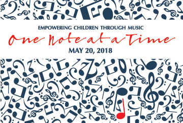 One Note at a Time – 2018 Benefit Luncheon Featured Image