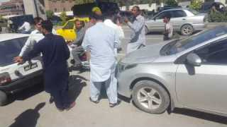 Car Accident and fight must watch