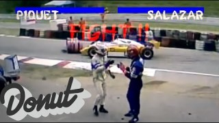 Best Racing Fights Compilation | Donut Media