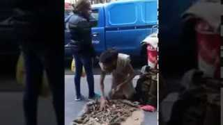 MUST WATCH! Homeless man got fed up at her