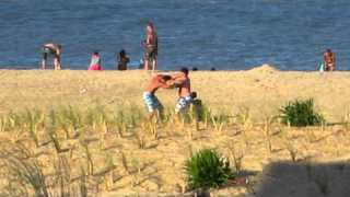 Two dudes fight at dewey beach memorial day weekend