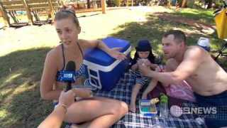 Water Park Fight | 9 News Perth