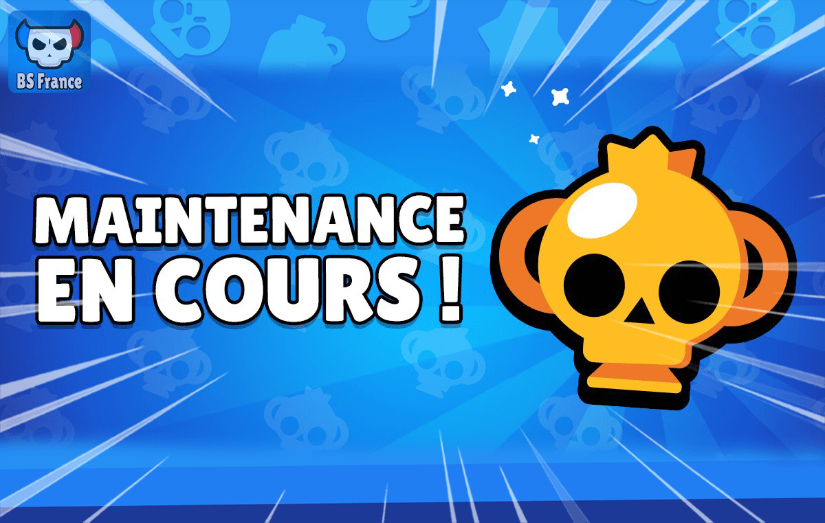 Brawl Stars Maintenance
