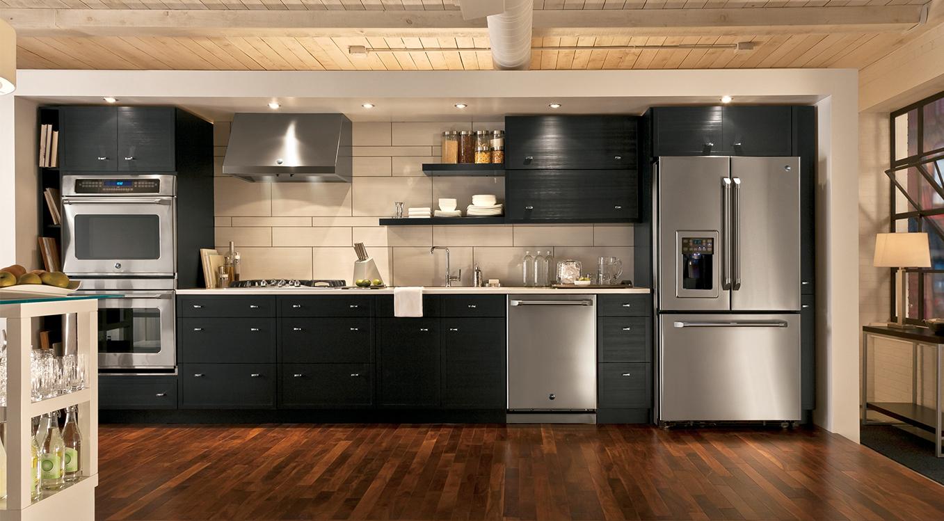 kitchen remodeling fairfax va moen faucet pull out slate vs. stainless steel | design blog