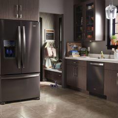 Black Stainless Steel Kitchen European Cabinets Design Blog