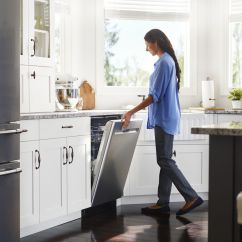 Maytag Kitchen Appliances Gold Arm Your With Fingerprint Resistant Stainless Steel You Could Try To Keep Mess Free By Requesting No One Ever Touch Again But Has A Better Solution