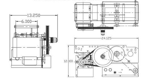 Micanan Pro SD Sliding Door Operator