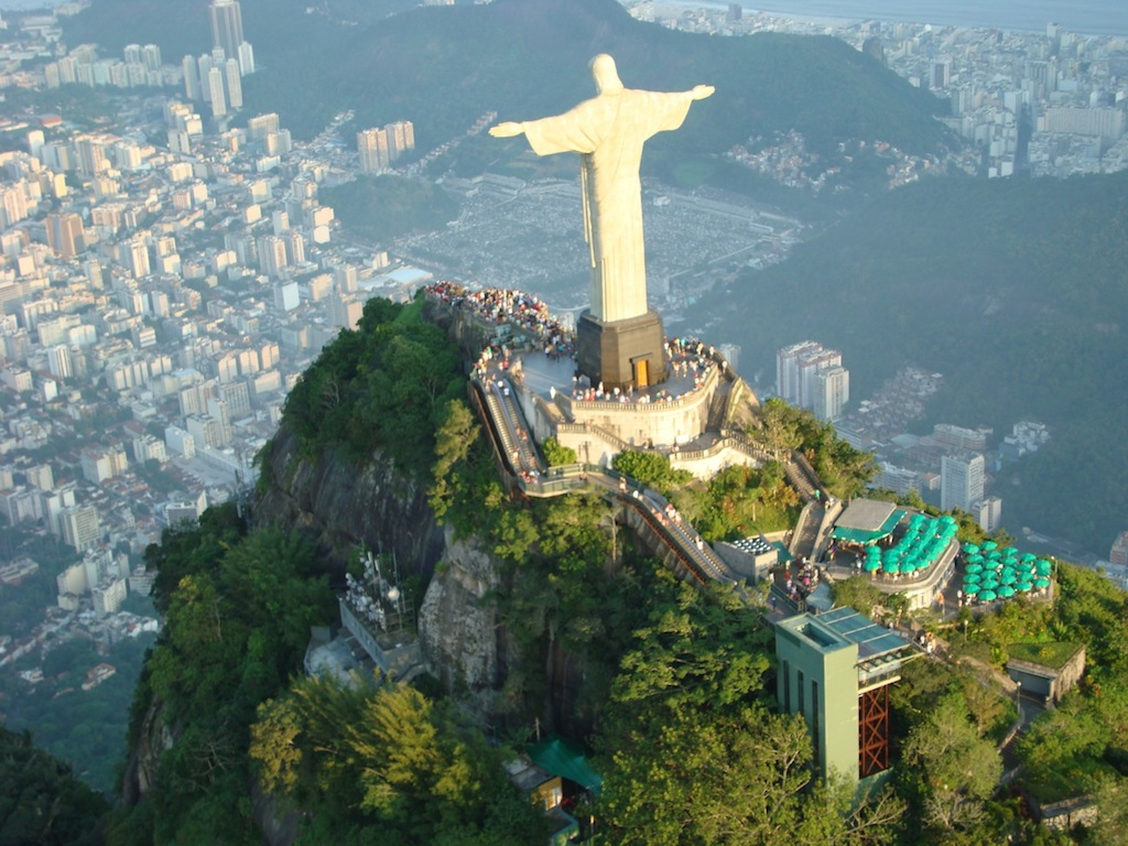 Christ the Redeemer in Rio de Janeiro Brazil by www.brazilfilms.com a film production services