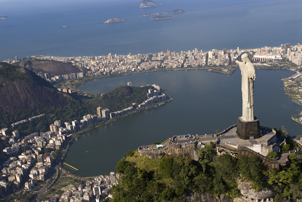 Christ the Redeemer at Rio de Janeiro Brazil www.brazilfilms.com a film production service company