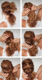 pretty curly twist hairstyle tutorial
