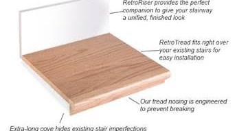Stairs Treads And Risers Hardwood Floor Accessories By   Engineered Wood Stair Treads   Platform   Modern White Oak Stair   Engineered Hardwood   Wood Plank   Plywood
