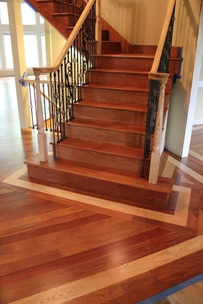 Stairs treads and risers  Hardwood Floor Accessories by Brazilian Direct  Brazilian Cherry