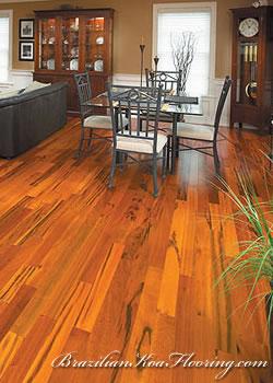 Brazilian Koa Flooring  Exotic Hardwood Flooring