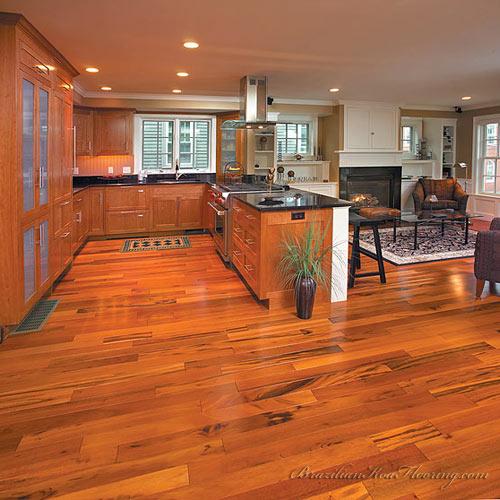 Brazilian Koa Flooring  Picture Gallery