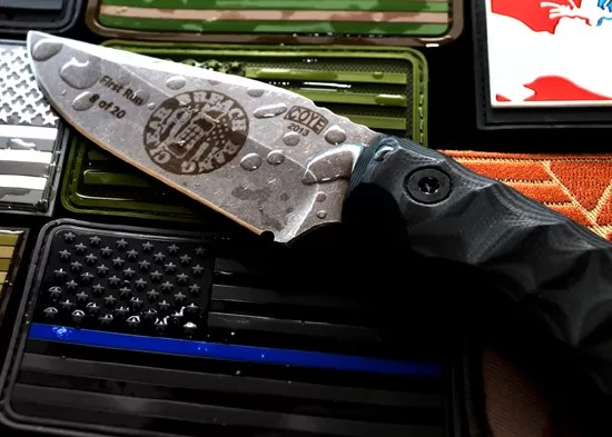 Breach-Bang-Clear is donating a limited edition Coye Ridgeback to help raise money for Warrior Shoot Event Group.