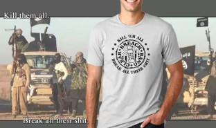 Kill Them All Shirt mounted