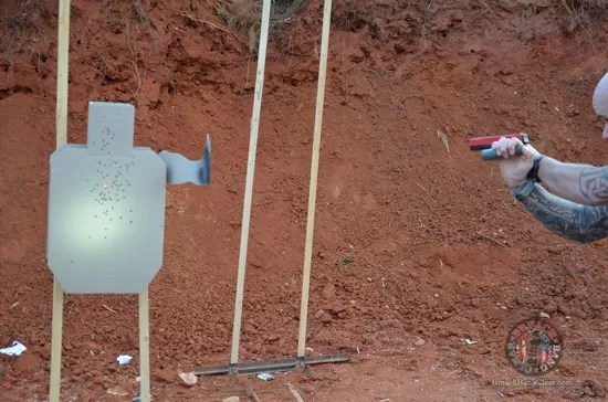 Ammo stopping power vs anatomy Cowan Breach Bang Clear 3D target