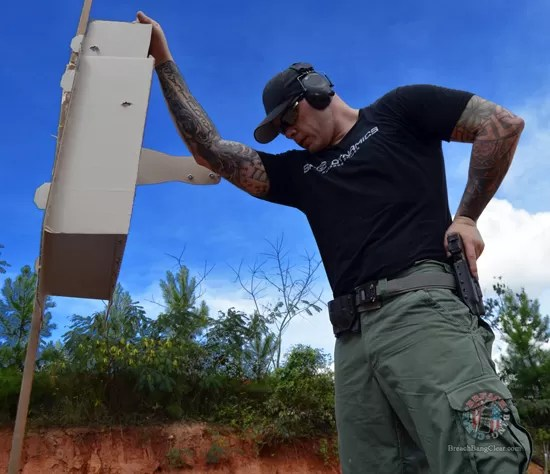 Ammo stopping power vs anatomy Cowan Breach Bang Clear blue skies