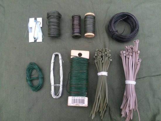 survival kit series cordage 3 wire