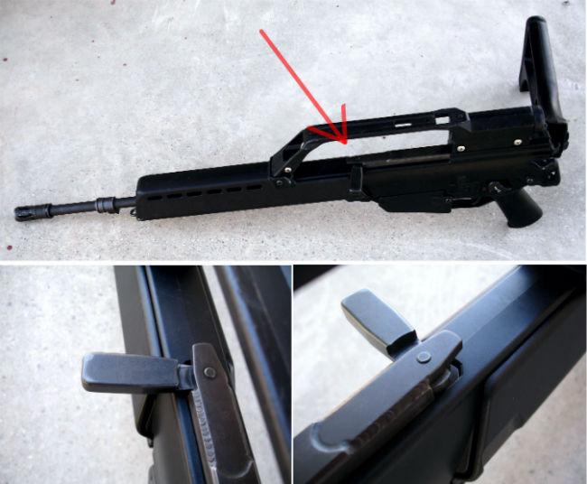 15. HK G36 charging handle