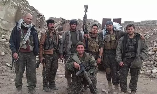 Scurfield in Kurdistan