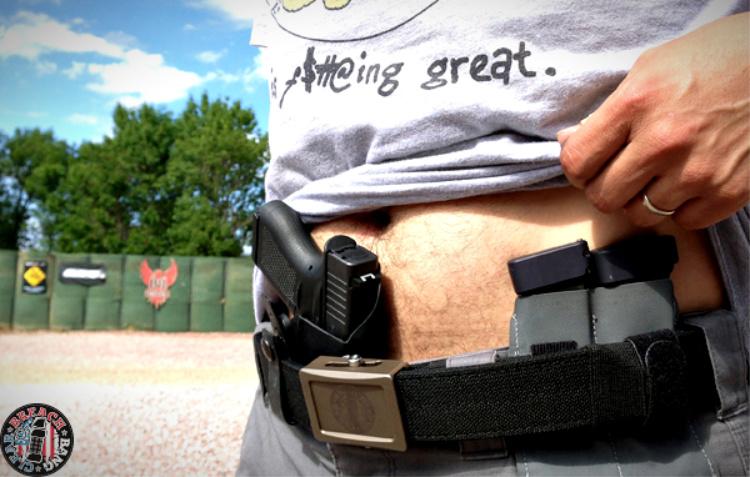 Taran Tactical Glock 43 mag extension.