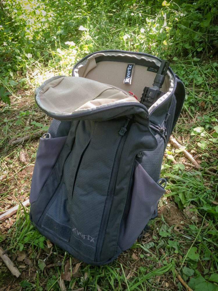 The Vertx Gamut EDC Bag serves as an SBR Backpack and AR Pistol Backpack
