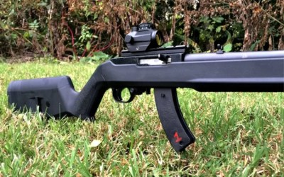 On the Range with Magpul's new Hunter X-22 10/22 stock