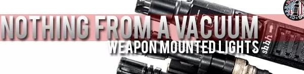 Nothing from a vacuum - a brief history of weapon-mounted lights.