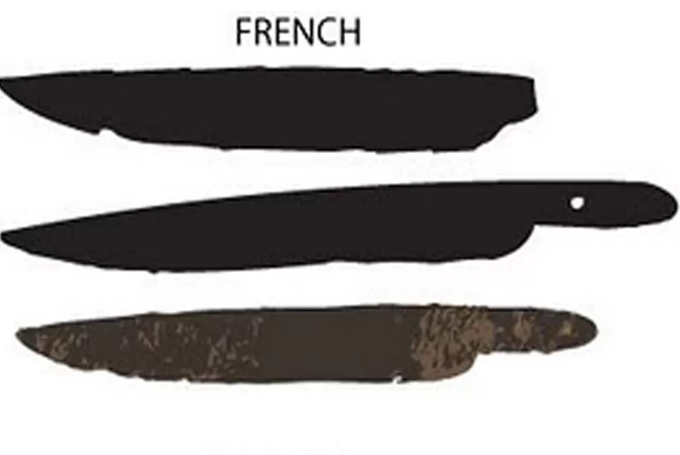 Early American Blade Shapes 1